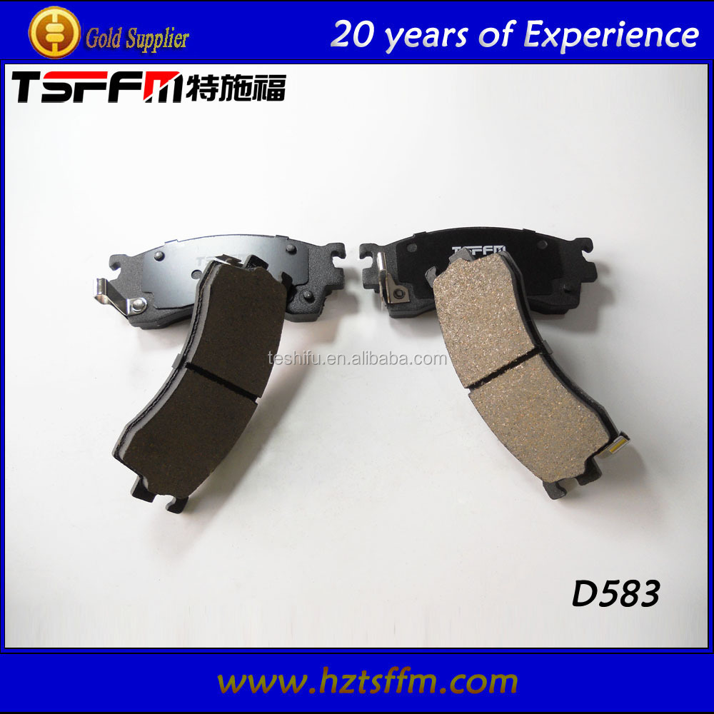 ISO certificate famous brand car brake rotor brake shoes manufacturer