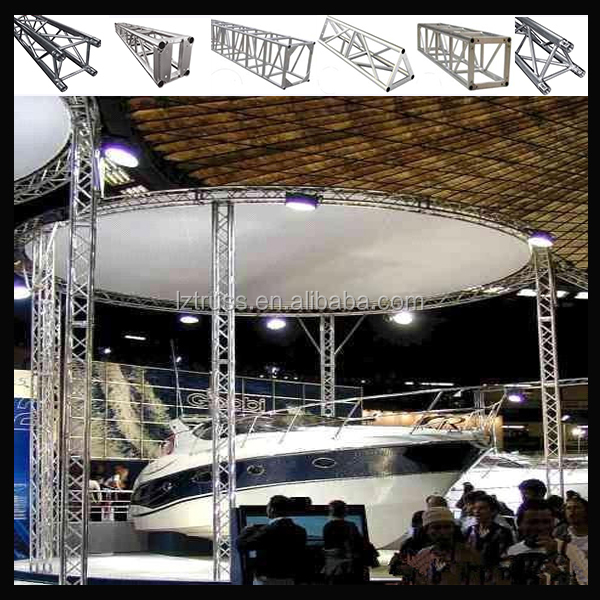 Cheap truss stand gloabl truss stage roof truss curved for Cheap truss systems