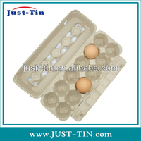 packing cartons/paper pulp tray/cardboard food containers with 6 hole 8 hole 12 hole 20 hole 30 hole egg tray