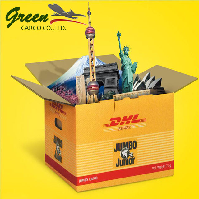 Alibaba express freight charge rates by DHL shipping from china to ghana
