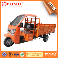 2016 Chongqing Popular Motorized Water Cooled Differential Cargo 250CC Tricycle For Adults With Motor