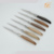 Precious natural wood handle tableware 6 pc steak knife