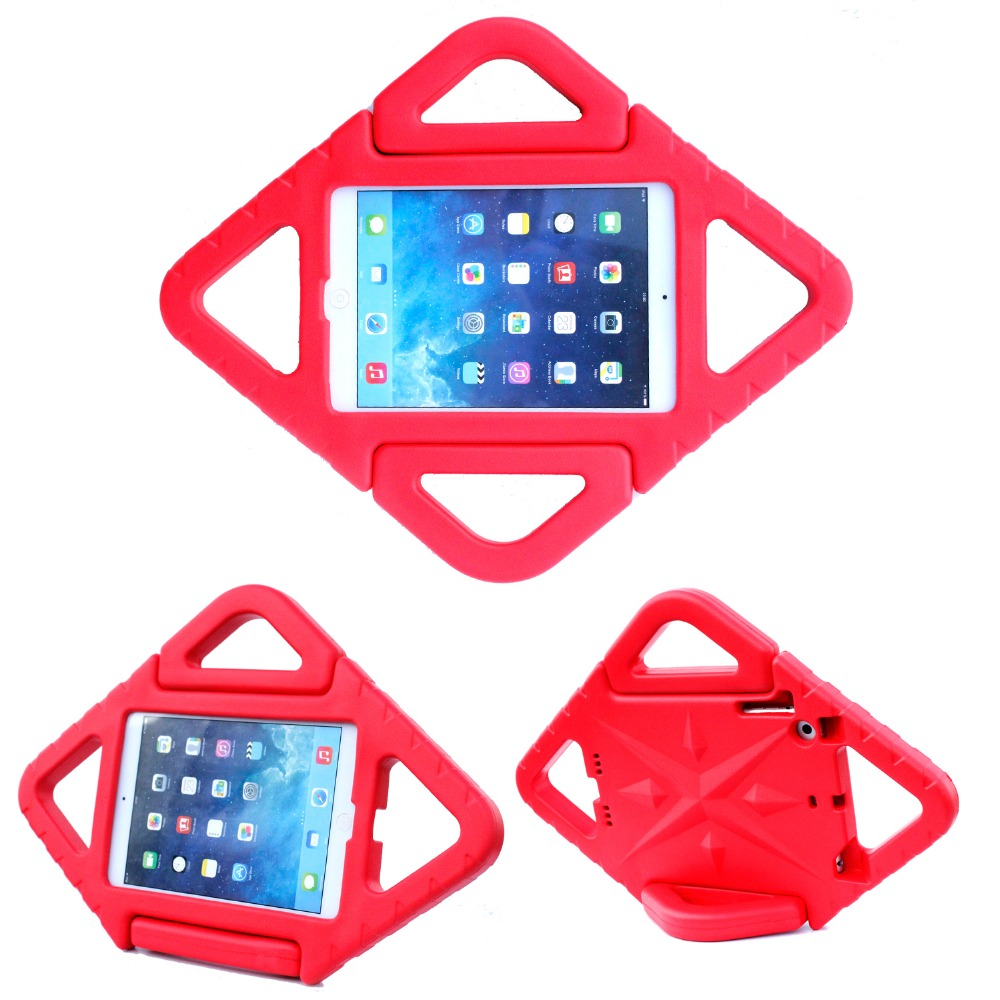 Convertible Handle Stand Kids Hard Cover Laptop Case for iPad Mini