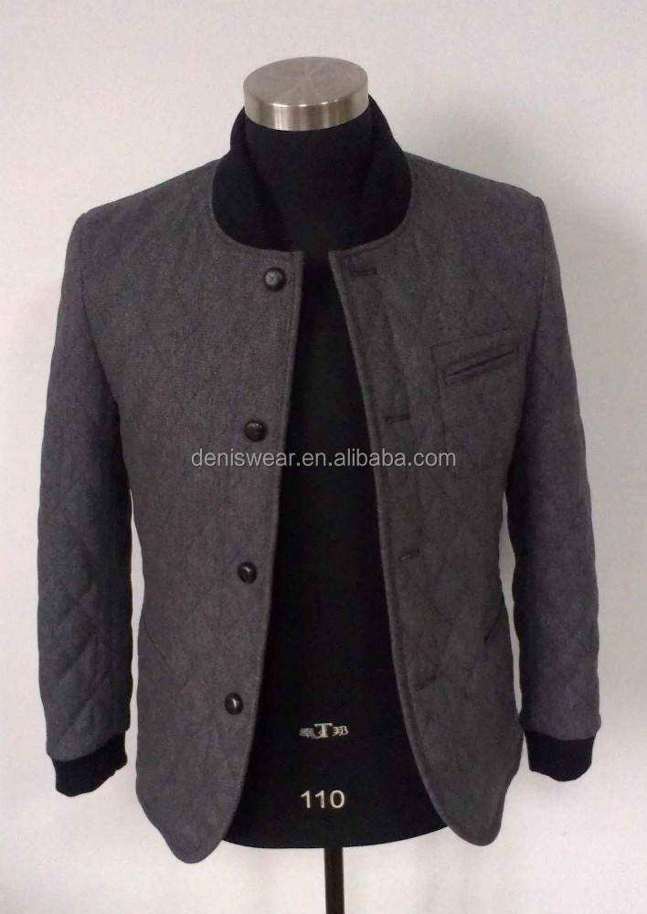 Mens Causal Quilted Jackets 2016 New Style