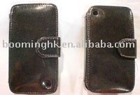 mobile leather case for 2g 3gs iphone