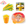 Cob Corn Thresher Peeler Kitchen Tool Kerneler Cutter Remover Stripper