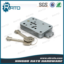 Double Key Zinc Alloy Small Box Safe Lock