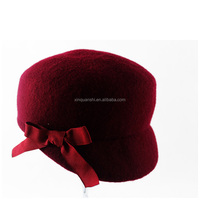 New style top selling gangster fedora hats mens wool felt hillbilly hat