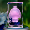 Baymax shape toy crystal craft for gift