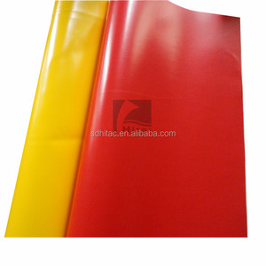 500d fireproof pvc coated tarpaulin in roll for truck tarps