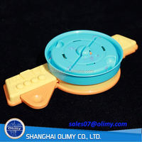 High quality round cover plastic toy for Children