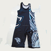 2016 Custom made wrestling singlets/wholesale wrestling singlet