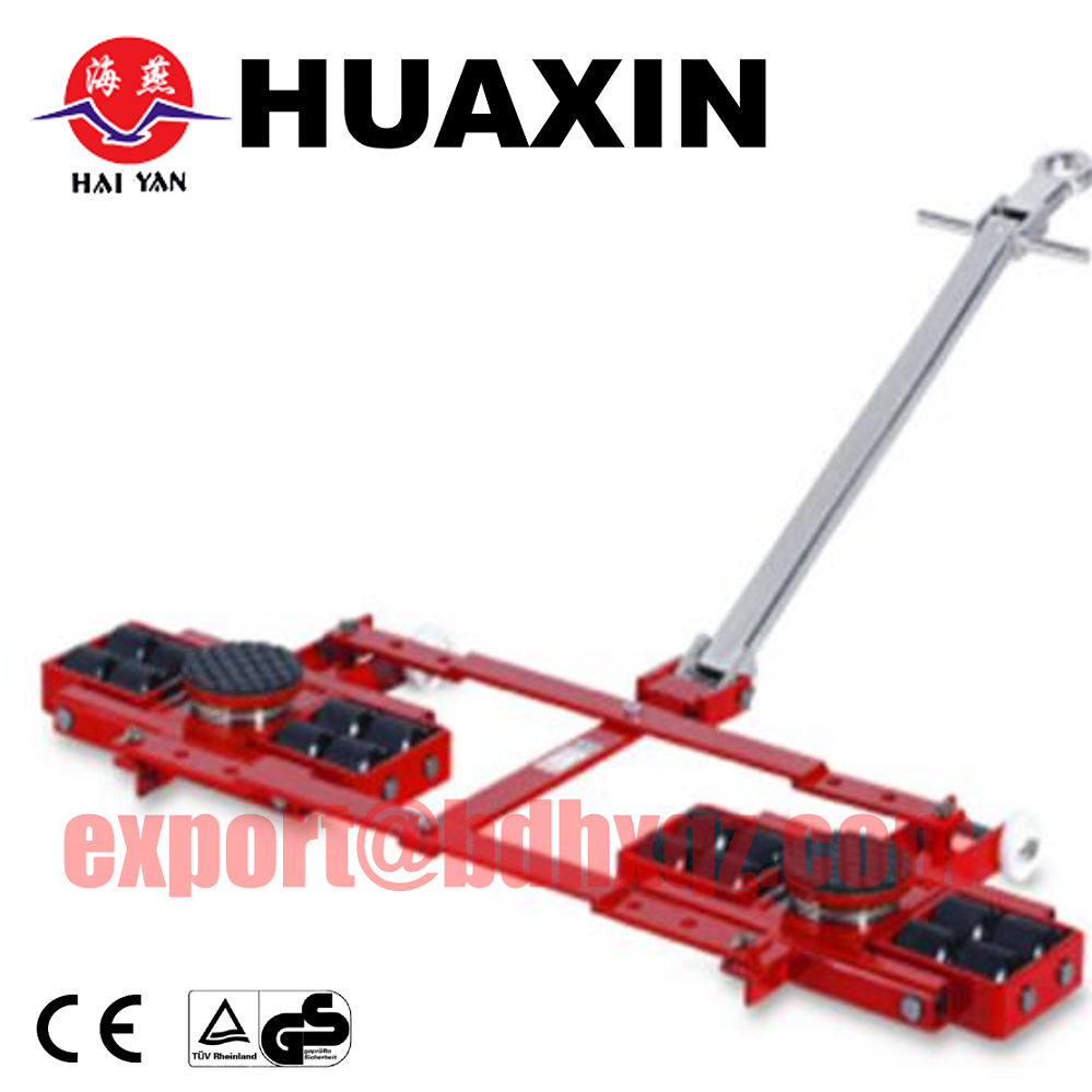 workshop tools 360 degree moving trolley 4 ton machinery mover dolly