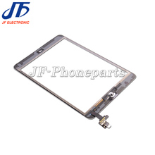 jfphoneparts For iPad Mini 1 2 Digitizer Assembly Touch Screen With IC Connector And Home Button