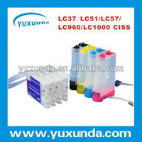 ciss continuous ink system for Brother DCP-130C/ 150C/ 330C/ 540CN, MFC-240C/ 440CN/ 665CW/ 3360CW, MFC-5460CN/ 586