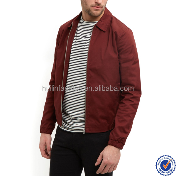 wholesale 2016 new arrived 100% cotton bomber jacket for man