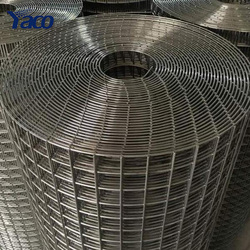 "1/4"" 1/2"" 3/4"" 1"" hole SS304 stainless steel welded vector mapping grid wire mesh 1x30m"
