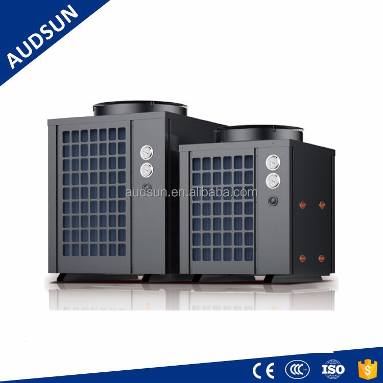 9KW Multi-function heat & cool Heat Pump,R134a aircon System,2 in 1 Air Source heat pump 80C hot water & chill air system