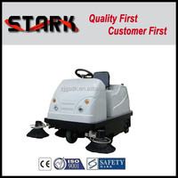 SDK-1800 cleaning in use ride on pavement garage sweeper truck,floor sweep machine