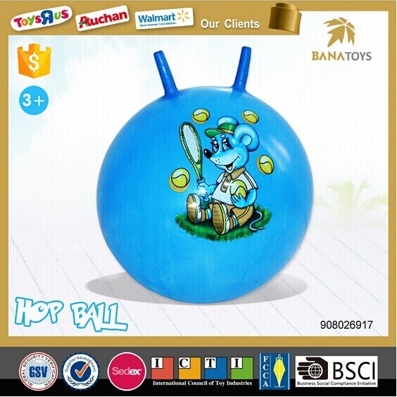 Newest sport toy 38CM bouncing skip ball