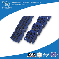 900 Plastic Modular Ribbed Conveyor Belts