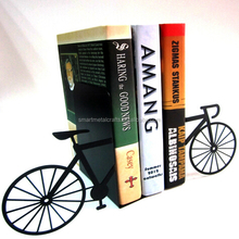 Bicycle metal bookstand Decorative metal gifts bookends