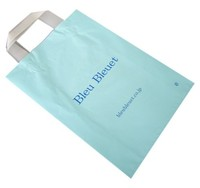 Flexiloop wholesaler cosmetic plastic recycle handle bag