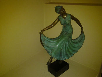 Solid Bronze- Dancing Maiden