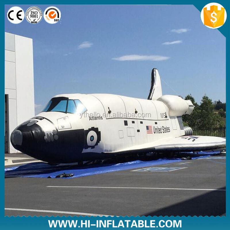 Giant inflatable airplane passenger plane for advertising new design