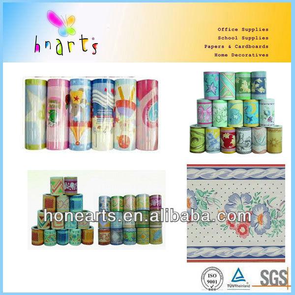 Bordi decorativi per pareti pvc parete frontiere muro di for Bordi adesivi decorativi