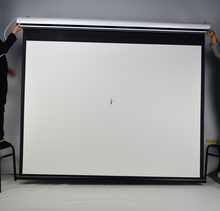 Native 1080 projector screen inch motorized projection curtain