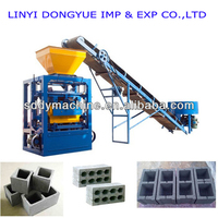 QT4-24 dongyue concrete cement hollow block making machine price for sale