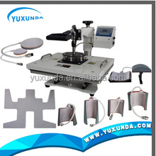 Wholesale Low Price Sublimation Mug Cap 9 In 1 Combo Heat Press Digital T Shirt Printing Machine