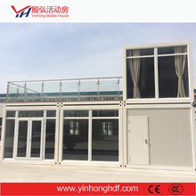Temporary Mobile House Container House Villa Light Steel stable structure China ite Office Toilet Container House Modular Style