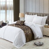 Natural Fabrics Four Seasons Hotel Bedding Sets