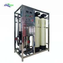 RO Plant Water Treatment System With Softener and UV Sterilizer
