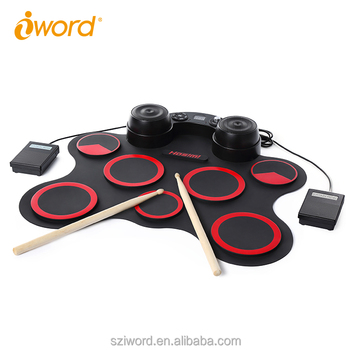iWord Manufacturer portable digital drum set Playing Games