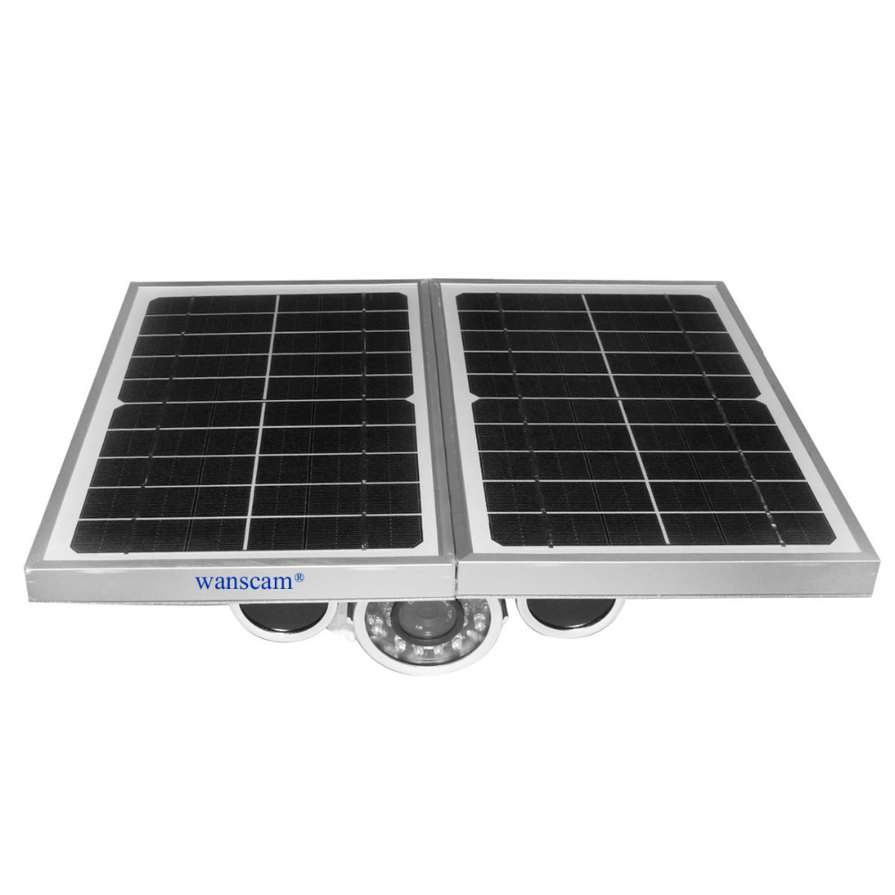 Solar Power New generation With TF Card and Battery providing 2 days cloudy day 720P HD Onvif P2P IP Caemera