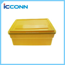 2015 beautiful eco friendly food grade plastic home storage box/food storage container