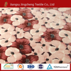floral printed coral fleece 150D/288F good hand feeling reactive printed used flannel fleece fabric