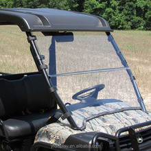 Acrylic Golf Cart Part-Colored Anti UV Car Windshield Price, Folded Club Car E-Z-GO Precedent Golf Carts Windshield