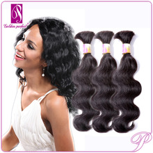 Remy And 5a Body Wave Indian 100% Virgin Asian Extensions Braiding Pony Human Hair