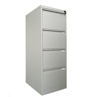Detachable steel office furniture 4 drawer file cabinet