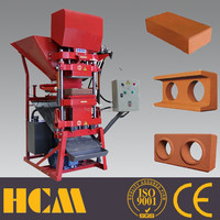 ECO2700M interlock soil clay hydroform bricks machine
