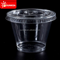 High Quality Plastic salad Cup, transparent PP salad cup