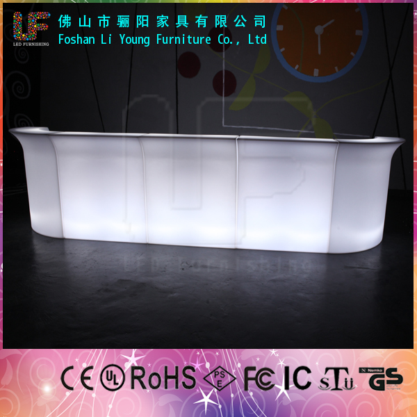 16 Different colors flashing rechargeable used for pub nightclub outdoor garden wholesale led furniture led <strong>bar</strong> table