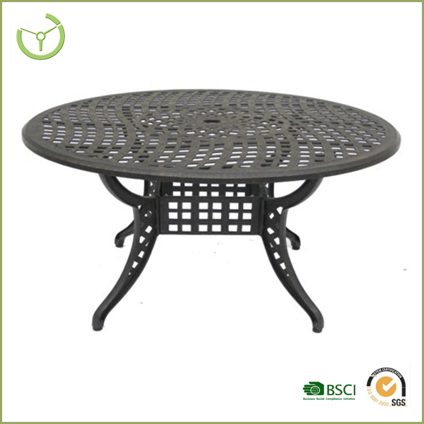 2016 new design aluminum outdoor picnic table made in for Table exterieur design aluminium