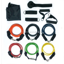 Custom Resistance band set with door anchor/resistance band exercise