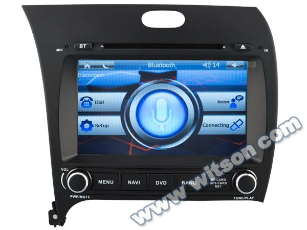 WITSON car gps navigation system for KIA CERATO 2013