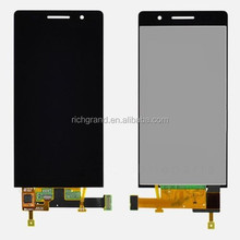 OEM LCD display and touch glass screen digitizer for Huawei Ascend P6